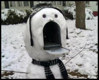 雪だるまC,写真