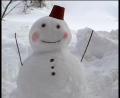 雪だるま,画像
