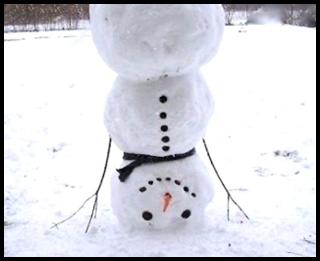 雪だるまB,写真