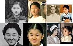 上皇后美智子様と愛子さまの似てるそっくり画像