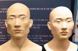 韓国人の特徴的な顔つき画像
