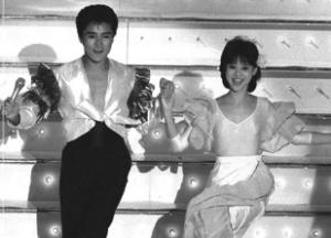 郷ひろみと松田聖子の紅白共演画像