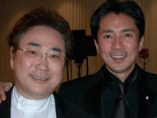 郷ひろみと高須委員長の画像