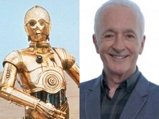 C-3PO,アンソニー・ダニエルズ,現在,昔,今,画像,