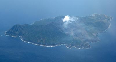 諏訪之瀬島の火山画像