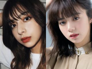 小山ティナと池田エライザの似てる画像