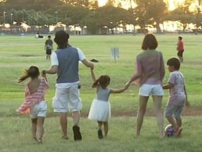 つんくの家族画像,子供