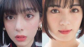 小山ティナと池田エライザ画像