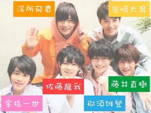 美少年のメンバーの画像