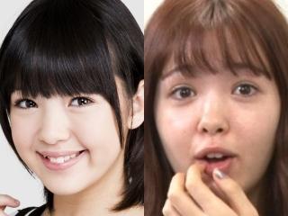藤田ニコルの整形疑惑,顔の変化