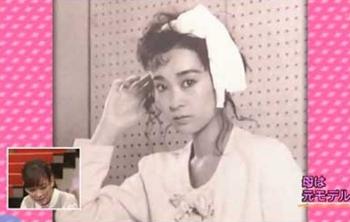 水川あさみの母親の若い頃モデル時代画像