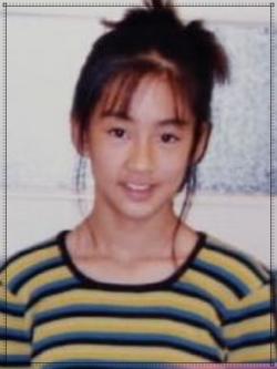 水川あさみの幼少期子供の頃画像